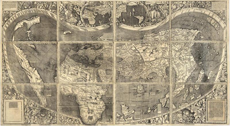 Карта Пири Рейса поражает совпадениями с современными очертаниями южноамериканского материка
